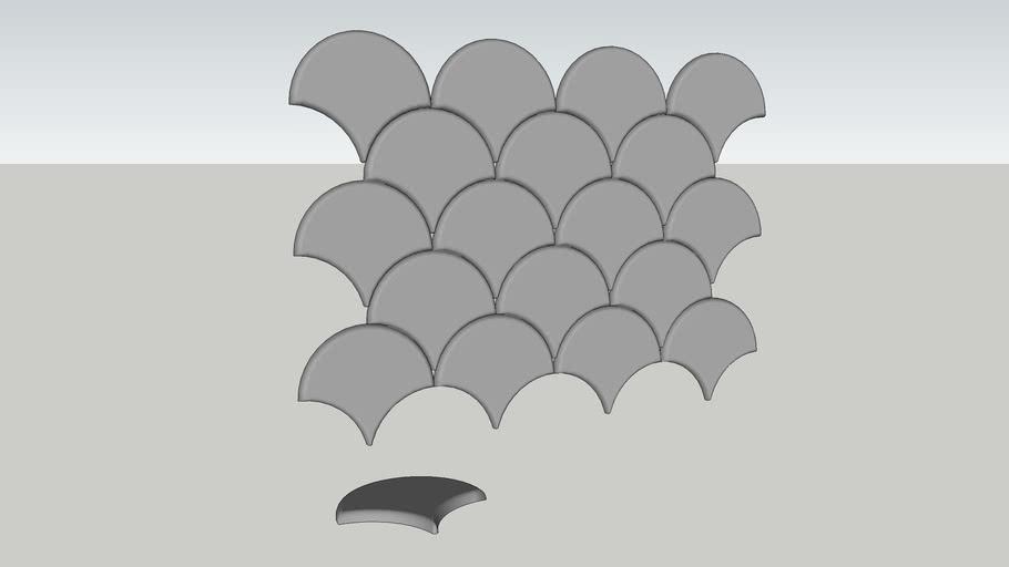 Portland - Revestimento 3D - 29,5 x 26