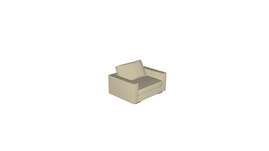 Florense Modula Space - Sofá 1,5 Lugar 1330x595x1050