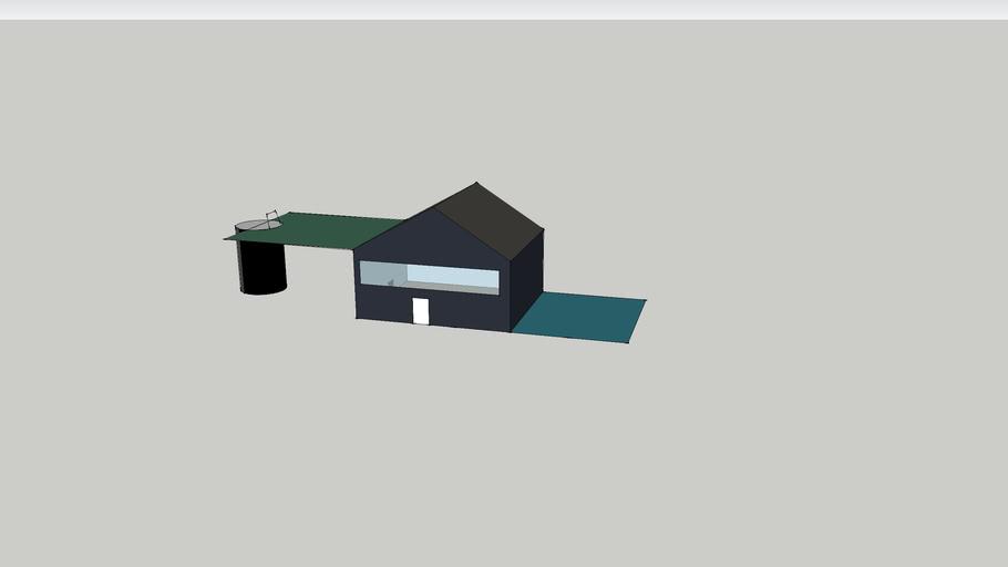 Casa com piscina e elevador