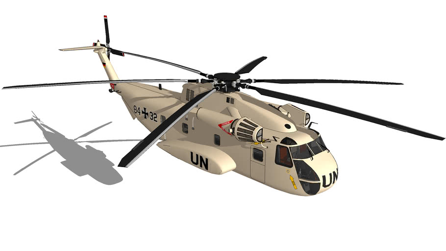 "Sikorsky CH-53G ""UNITED NATIONS"""
