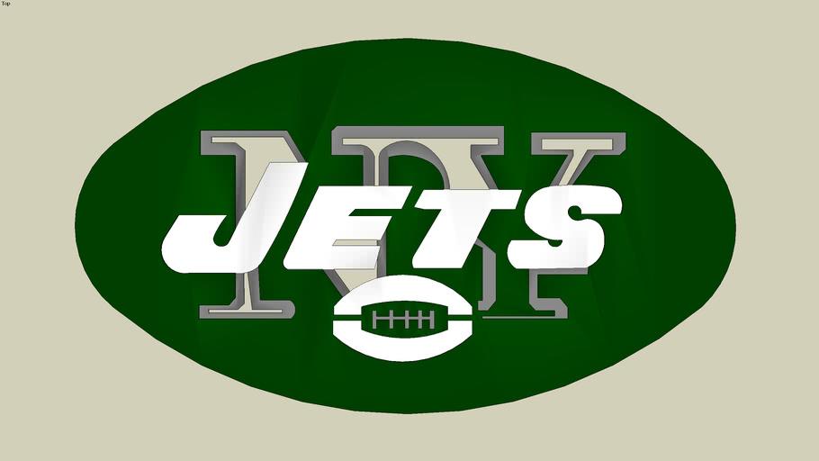 New York Jets Logo 3d Warehouse