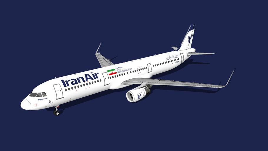 Iran Air (ایران ایر) Airbus A321-211(WL) EP-IFA