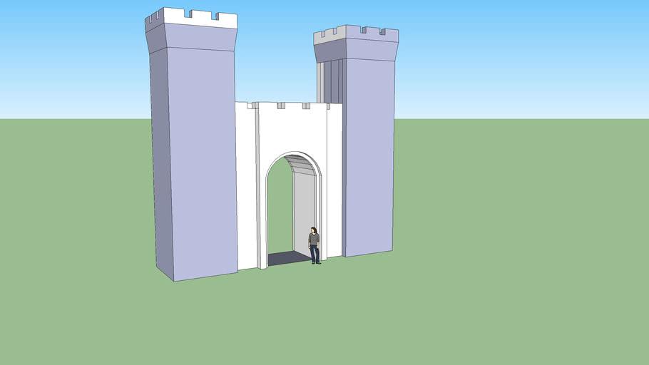Castle Builder Project, Castle Gate.