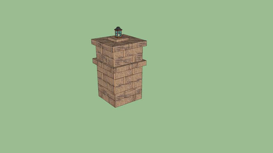 Pavestone Highland Stone Column Prototype
