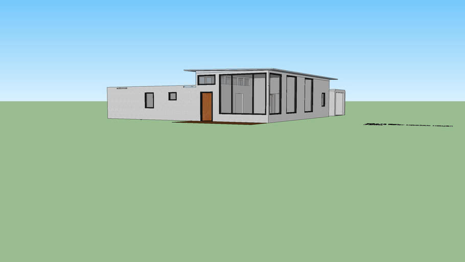 1490.75 Square foot modern house updated