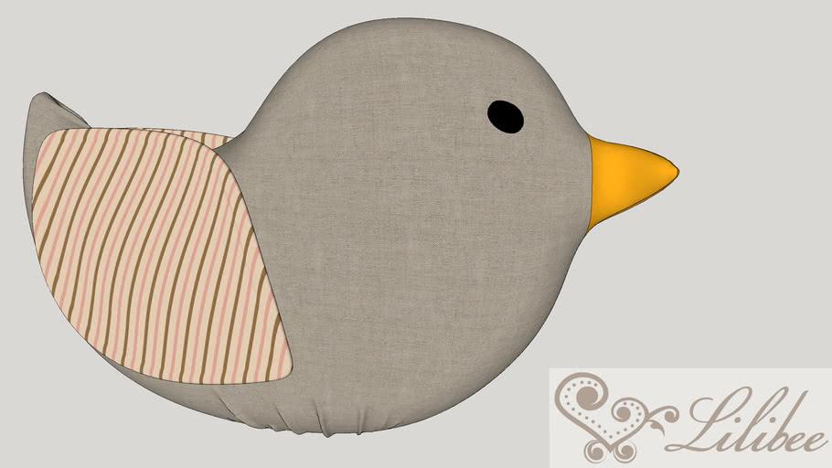 Almofada passarinho