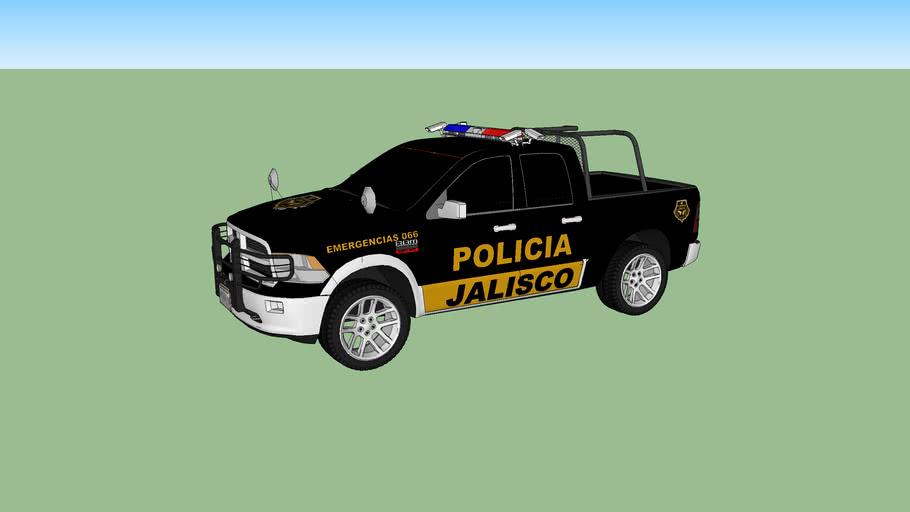 PATRULLA DE LA POLICIA ESTATAL PREVENTIVA DE JALISCO