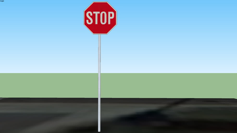 Stop sign at Carlton Wy and Mesa Ln