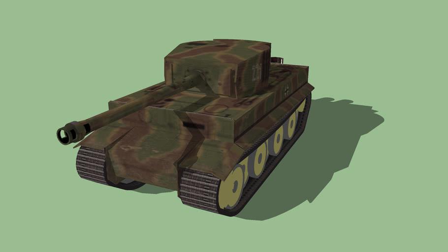 """Pz.Kpfwgn VI """"Tiger"""" Ausf. E"""