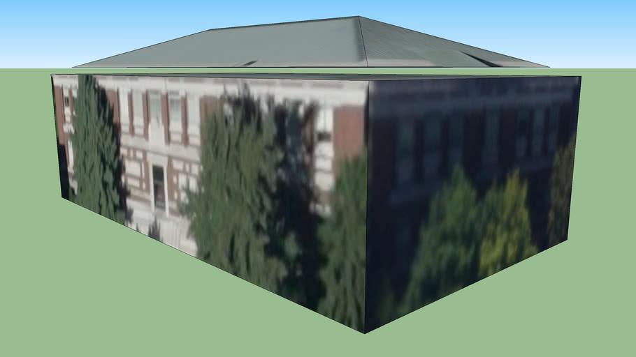 Zgradba v Cambridge, Massachusetts, Združene države Amerike