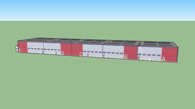 69680 Chassieu, airport buildings