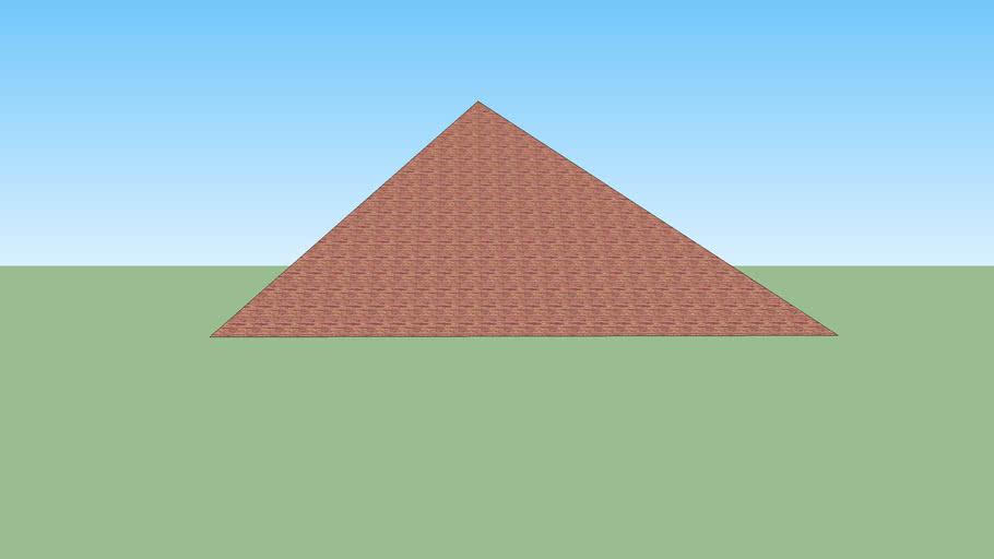 great pyramid (fake!)