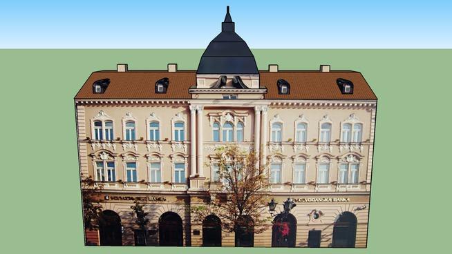 Ex Grand Hotel Majer Novi Sad (Vojvodjanska Banka NBG )
