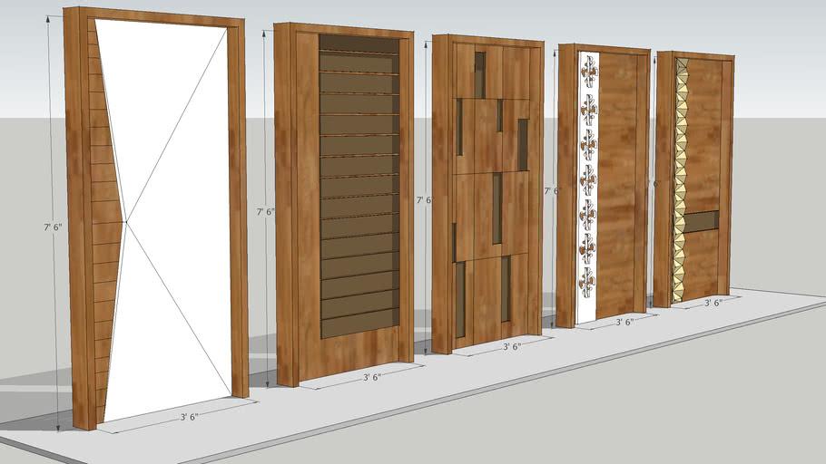 Modern Door Design 3d Warehouse