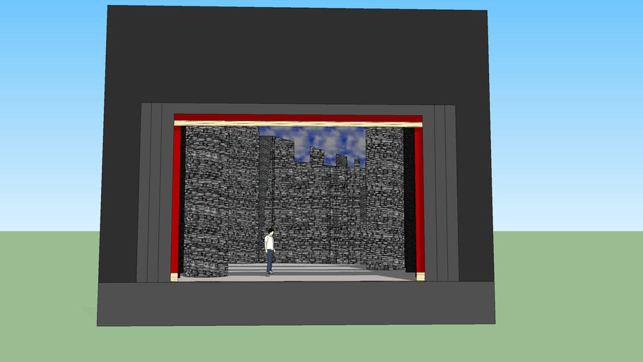 Scenografia Teatrale - Castello