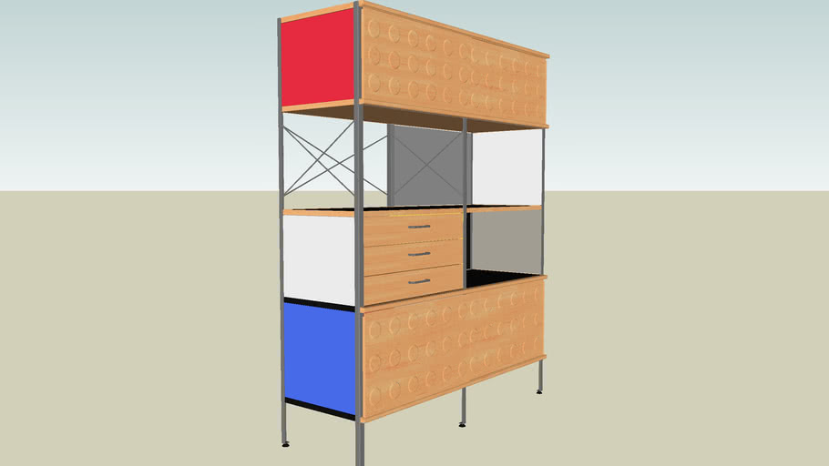 Eames® Storage Unit 4x2 from SmartFurniture.com