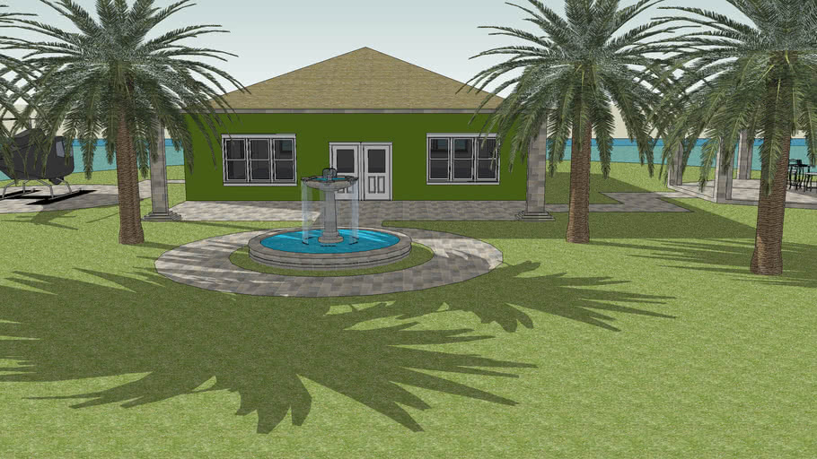 manssion,house on island,island,house,mansion