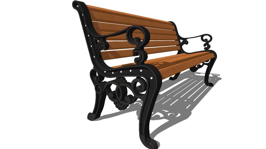 "Скамейка парковая ""Аллея""  /  park garden bench ""Alley"""