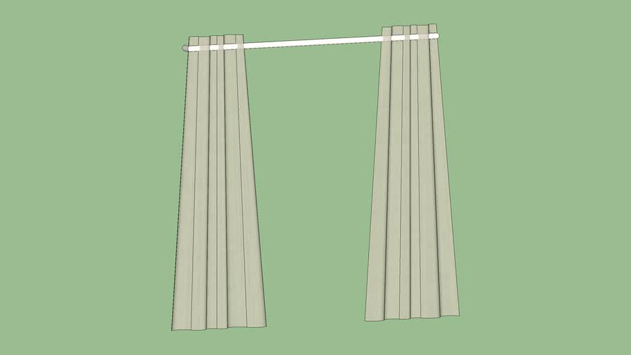 "Crate & Barrel Lindstrom Ivory Curtains 84"""