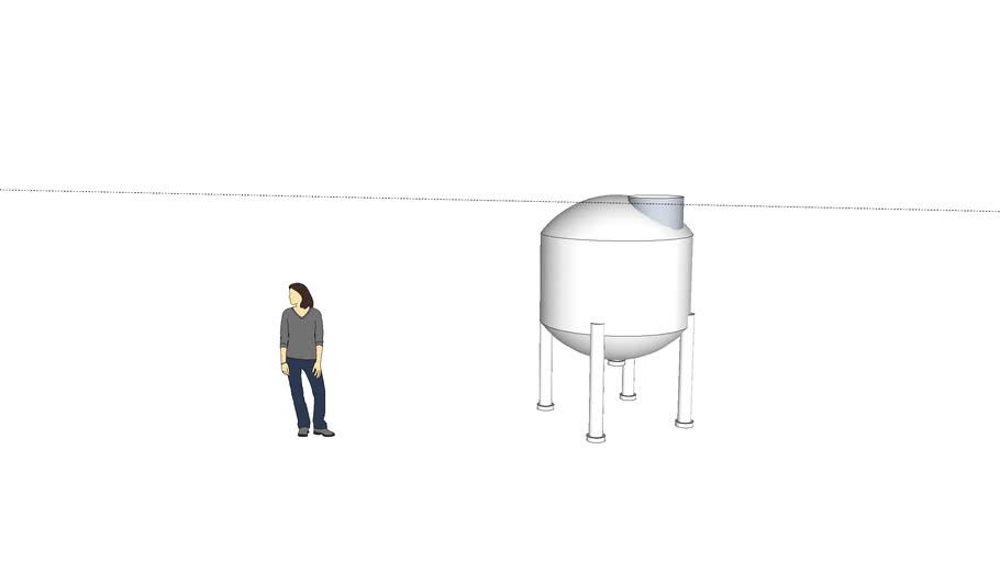 Small silo tank