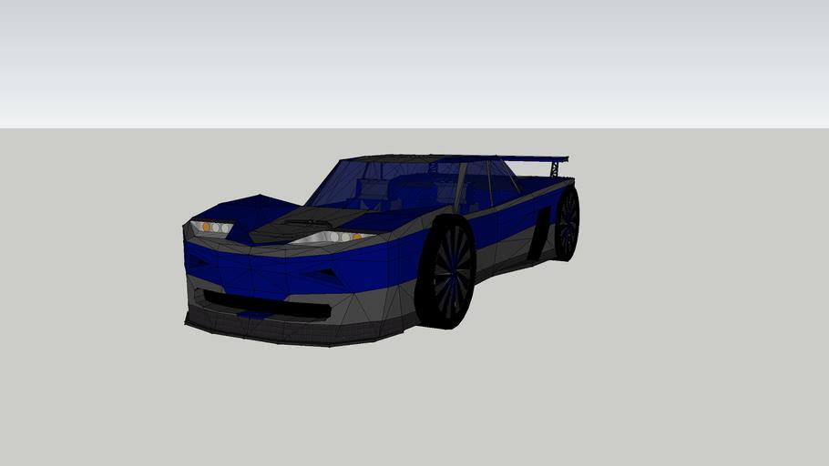 de getunde versie van de tweede versie van de conceptcar `timo´