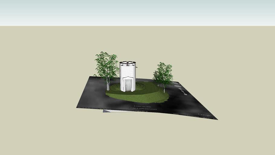 Wasserturm in Ossla