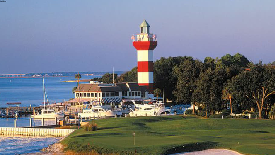 18 Hole at Harbour town golf club