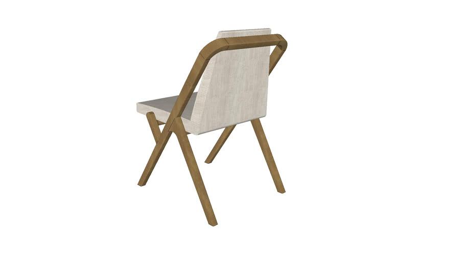 Cadeira Quadratta sem braço
