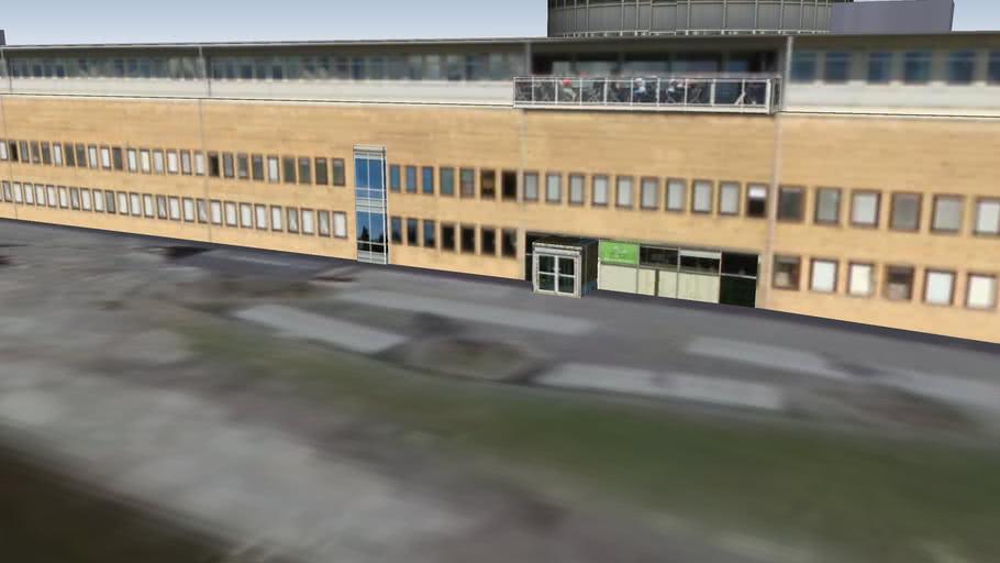 Samhällsvetarhuset, Umeå universitet
