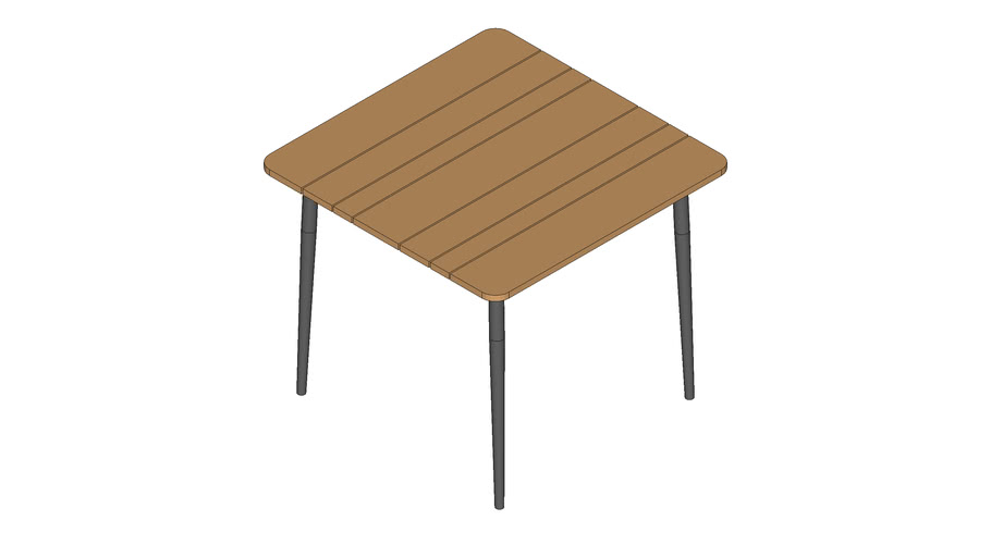 Leo dining table 90