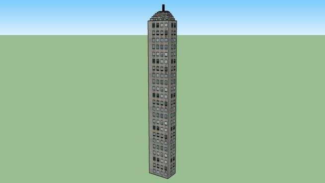 a 95% done skyscraper