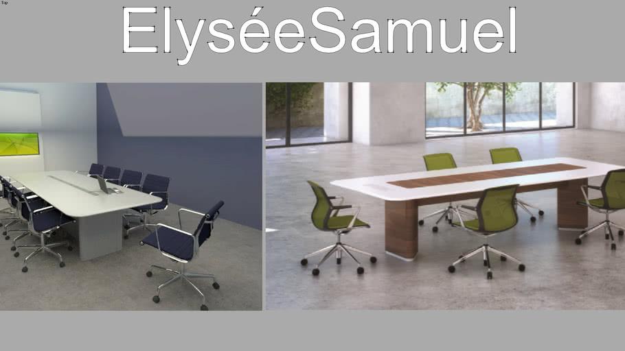 elyseesamuel BLISS  Table de reunion
