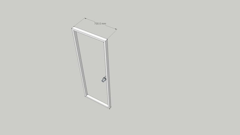 Door  wide700 H2000