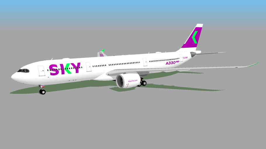 SKY Airline (CC-DKD) - Airbus A330-941 (Fictional)