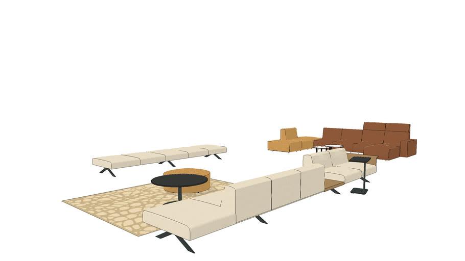 Steelcase Sistema Lounge System