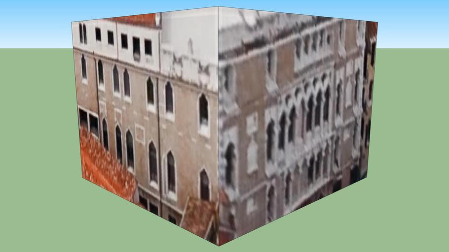Gebäude in Venedig, Italien