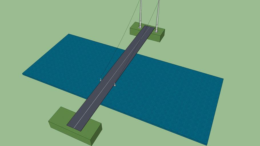 Simple car bridge