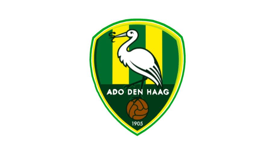 Logo Football Ado Den Haag 3d Warehouse