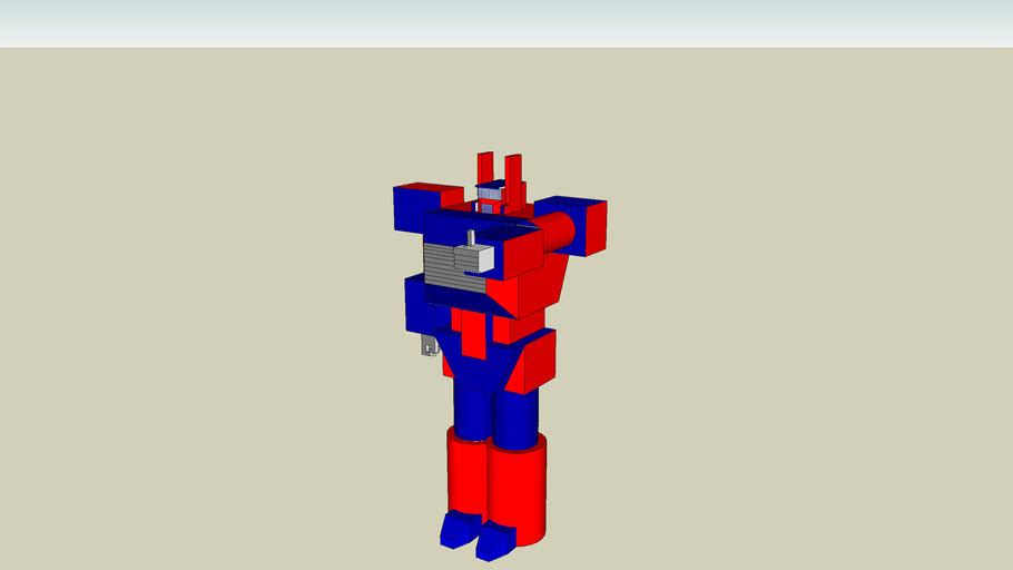 robot red-blue por FLY