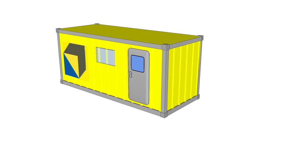 20' kantoor container boskalis