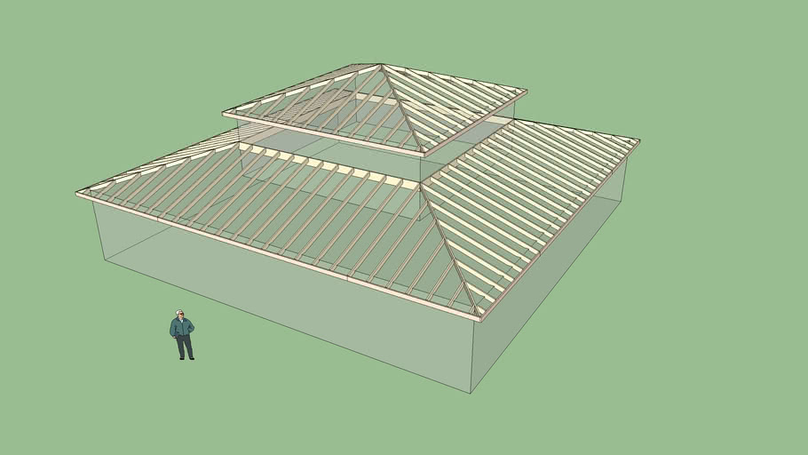 Shed Roof 2 3d Warehouse