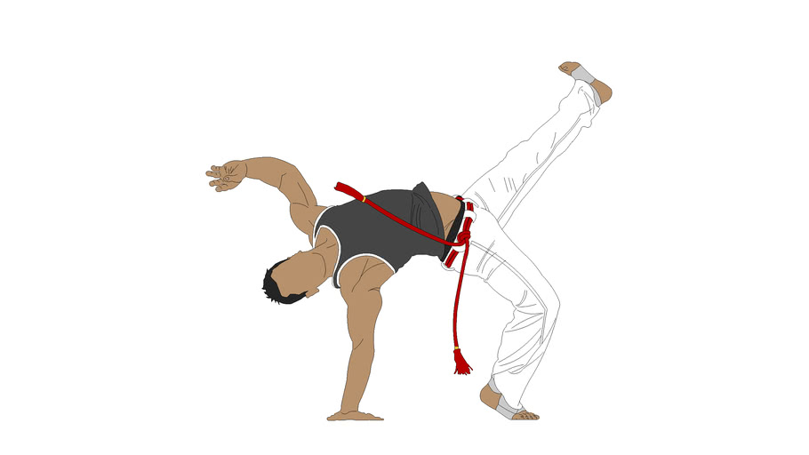 2D_Man_Capoeira