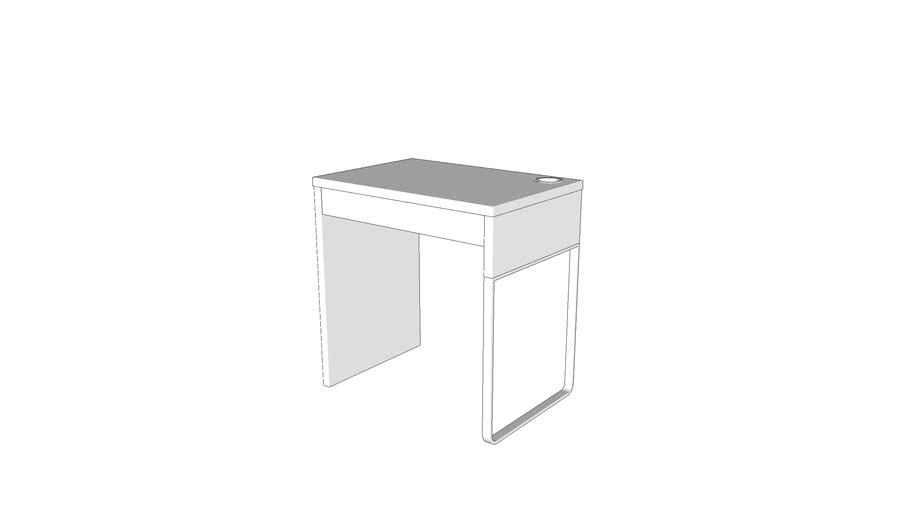 Ikea Micke Small Desk White Warehouse