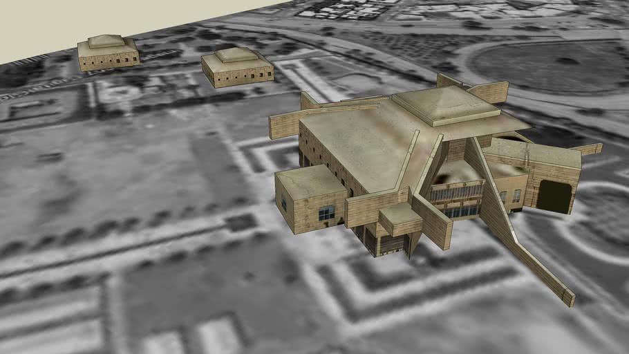 Iraq, Baghdad, Art Center