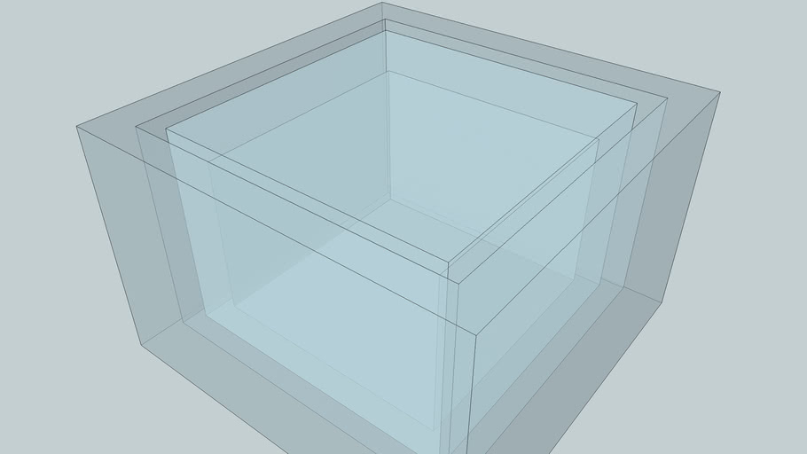 嵌套立方体