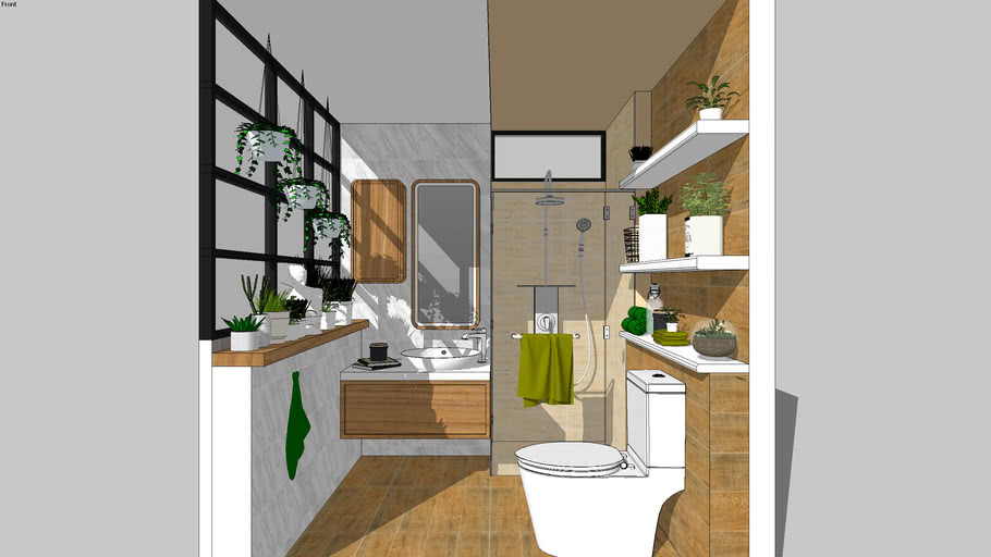 Beautiful Bathroom by COTTO - CRAFTSMAN