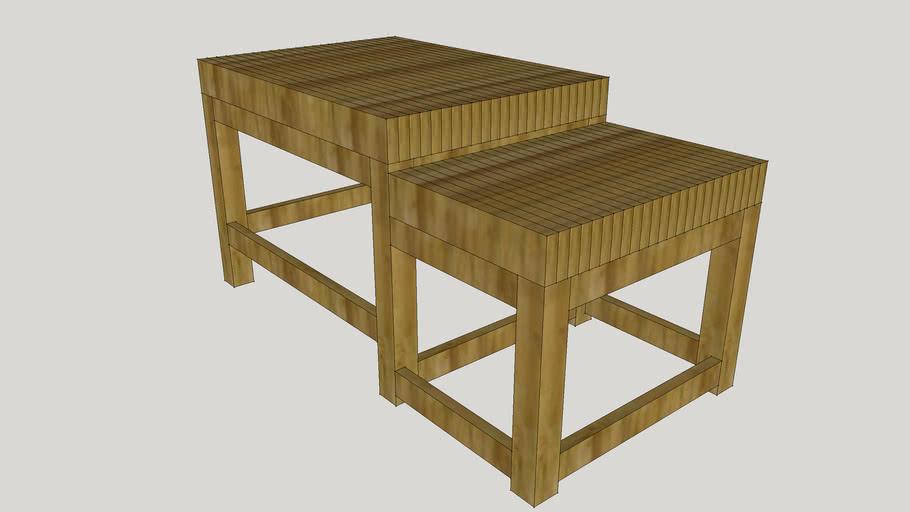 Dimensional Lumber Split Level Workbench