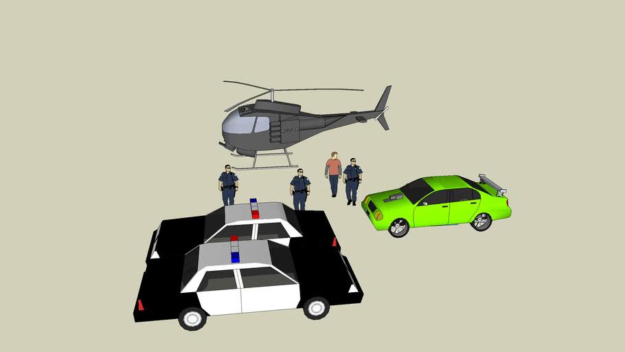 arrested street racer