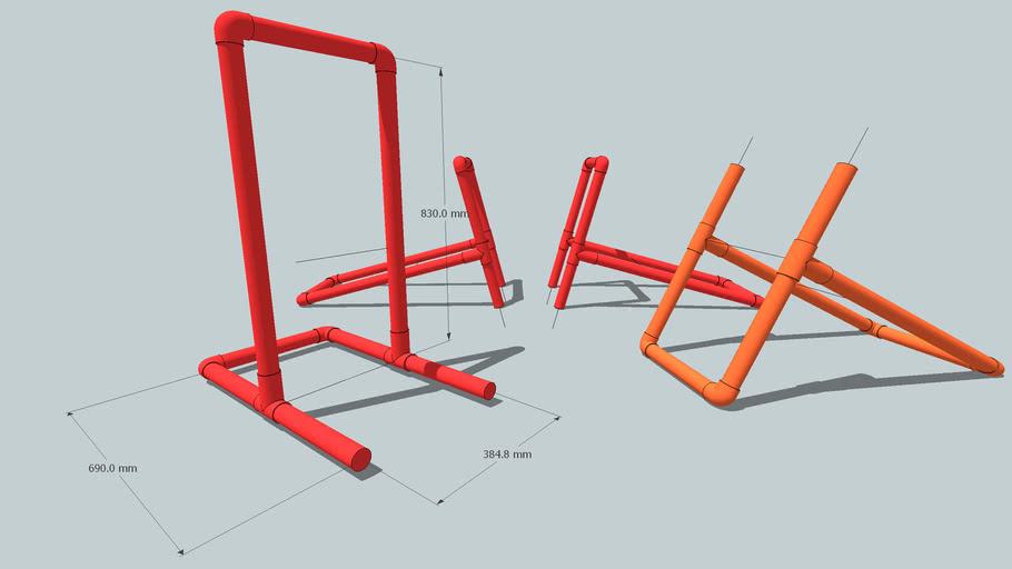 exercise bars