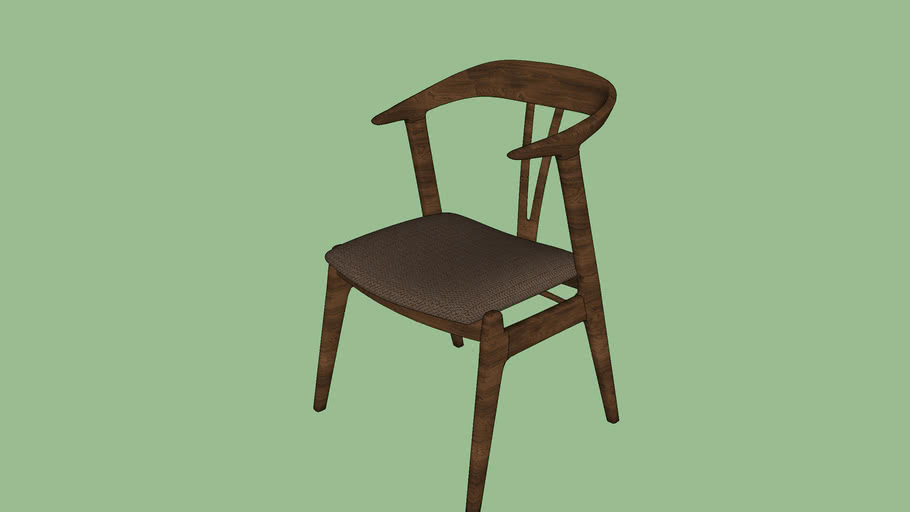 WOOD CHAIR VRAY 2 RENDER READY